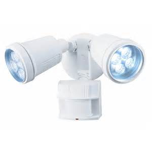 shop heath zenith 180 degree 2 led motion activated