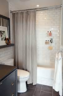 Tiles For Small Bathrooms 34 Bathrooms With White Subway Tile Ideas And Pictures
