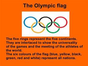 what are the five colors of the olympic rings olympic 1
