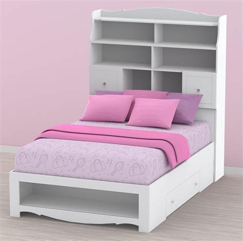 full bookcase bed full size bookcase bed 28 images jaidyn youth wood full size bookcase storage bed