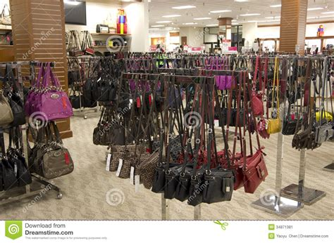 Purse Store handbags purse in department store stock image image