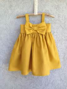 custom listing for pinkjet big bow dress mustard yellow