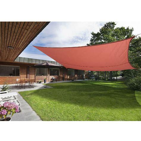 garden sail awning 4m x 4m sun shade sail garden patio awning canopy screen