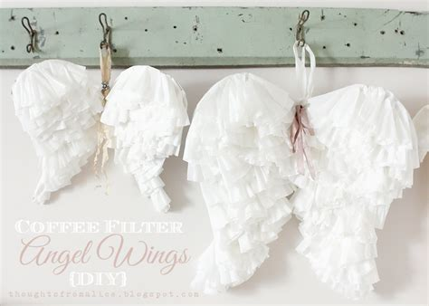 Dining Room Chair Cover Patterns Coffee Filter Angel Wings Diy