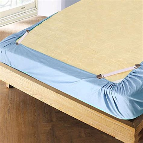Adjustable Bed Sheets by Adjustable Bed Sheet Cover Grippers Suspenders Holder Band