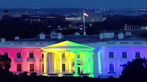 youtube white house proudtolove white house goes rainbow to celebrate same