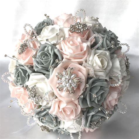 Flower Posies Weddings by Brides Posies Buttonholes Artificial Wedding Flowers Pink