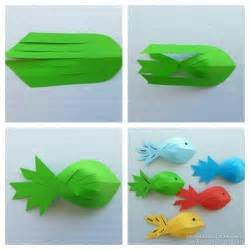 How To Make Paper And Craft - best 25 paper fish ideas on paper crafts for