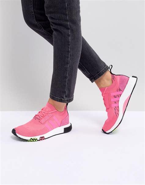 adidas originals adidas originals nmd racer in neon pink