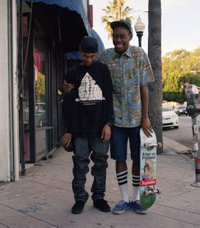 sheck wes vetements socks sle tyler the creator hodgy beats sandwitches live on late