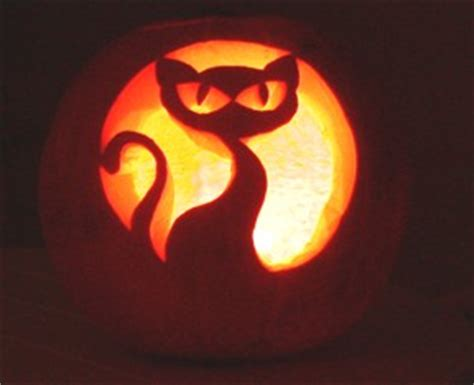 jack o lantern templates cat all things halloween jack o lanterns