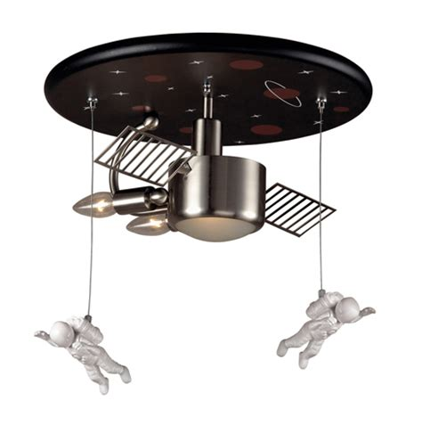 outer space ceiling fan astronauts in space ceiling light fixture