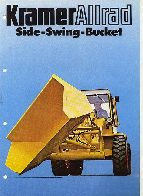 side to side swing kramer allrad side swing bucket brochure