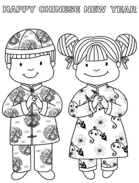 coloring pages chinese new year 40 best images about coloring holidays on pinterest