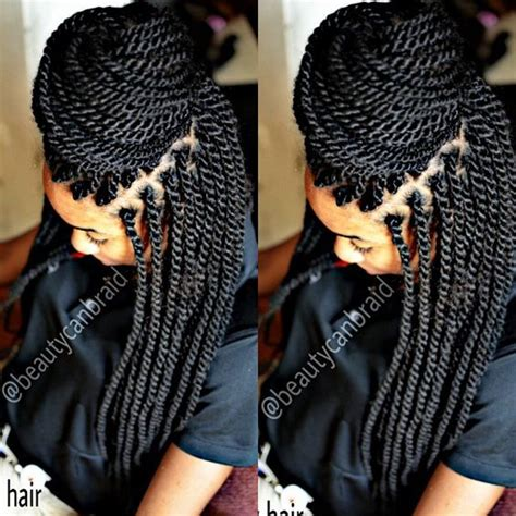 marley hair hot water afro marley braid 12 packs no cutting ends were brush dip