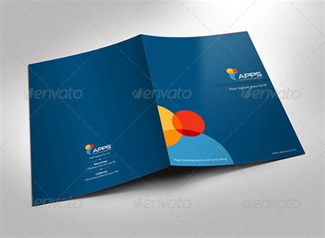 company folder template 93 best folder mockups die line and design templates