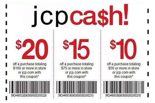 jcp coupons printable 2018