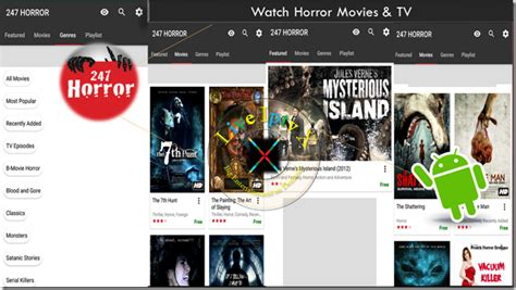 horor apk tv 247 horror tv apk for android device android iptv app live