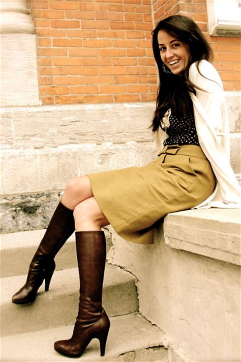 skirts with boots 2017 best style combinations