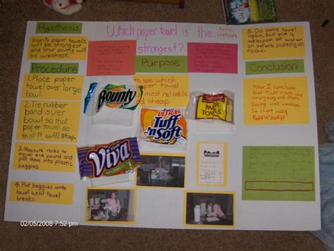 paper towel experiment research which paper towel brand is the strongestwritings and