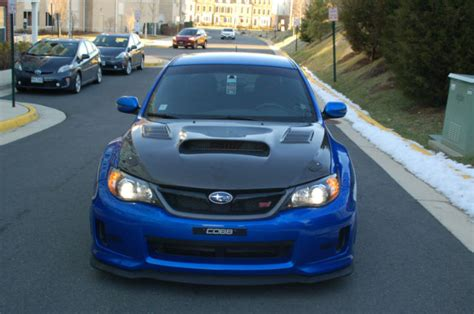 subaru sti 2011 custom 2011 subaru wrx sti in beautiful condition w carbon fiber