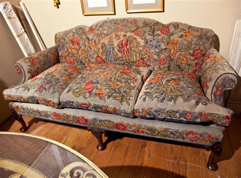 sofa victorian style english victorian style needlepoint sofa at 1stdibs