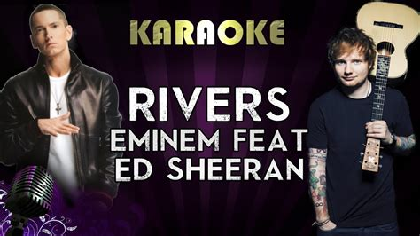 eminem ed sheeran lyrics eminem river ft ed sheeran higher key karaoke