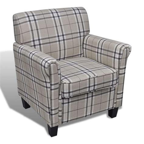 poltrone e sofa crema vidaxl poltrona in tessuto crema con cuscino di seduta