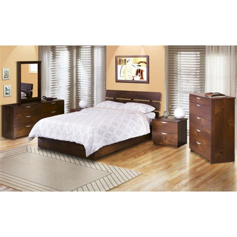 4 piece bedroom furniture sets nocce 4 piece full bedroom set truffle walmart com