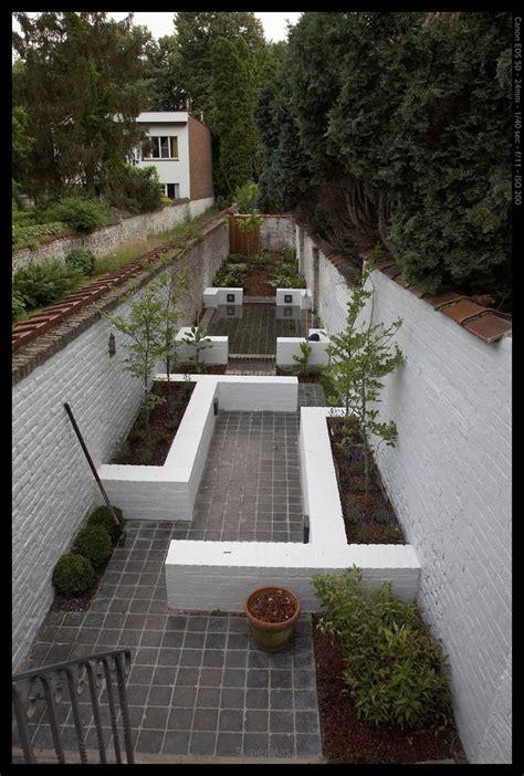 Thin Garden Design Ideas Narrow Garden With Different Points Of Interest