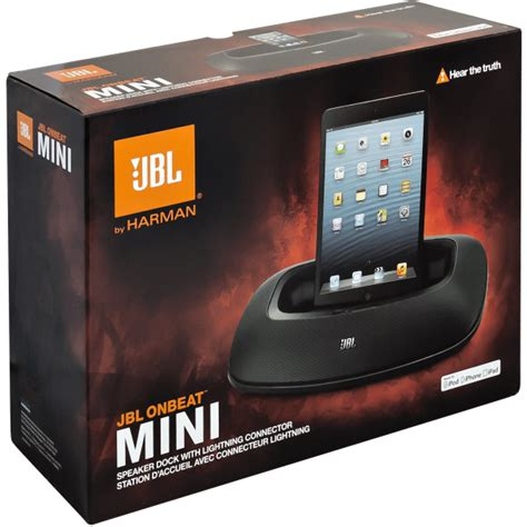 Speaker Jbl On Beat Mini jbl onbeat mini iphone portable speaker dock