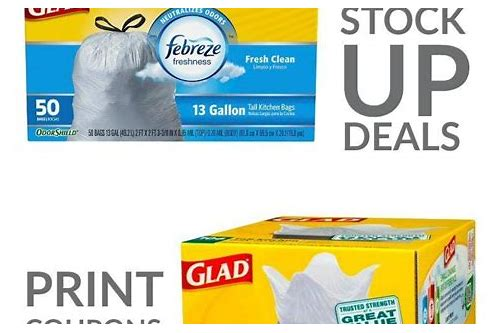 free printable coupons for garbage bags