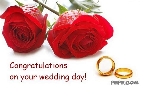 for your wedding day congratulations your wedding day greeting card pepe