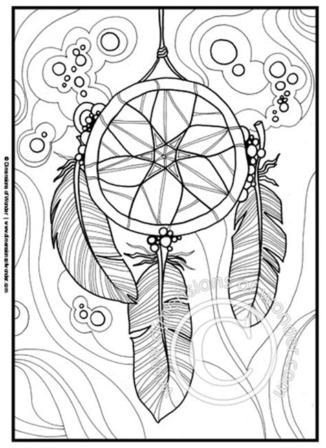 coloring pages dream catchers coloring pages printable