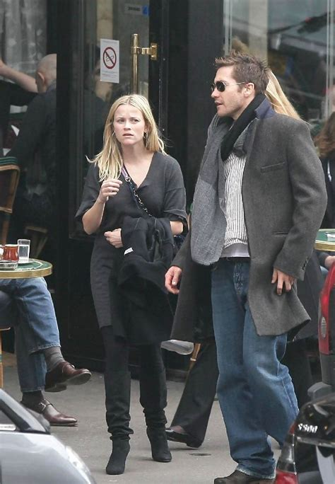 The Scoop On Reese And Jake jake gyllenhaal and reese witherspoon photos photos