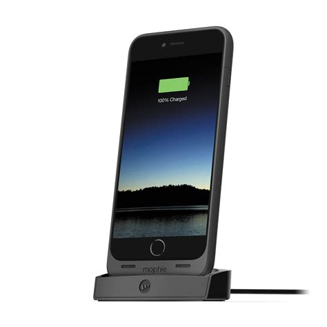 mophie dock for juice pack for iphone 6 6s black 3080 b h