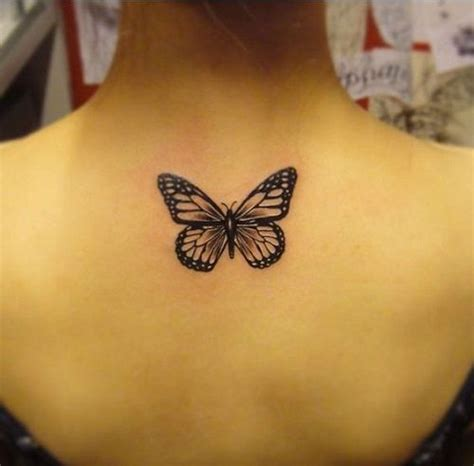 butterfly tattoo at the back 25 best ideas about small butterfly tattoo on pinterest