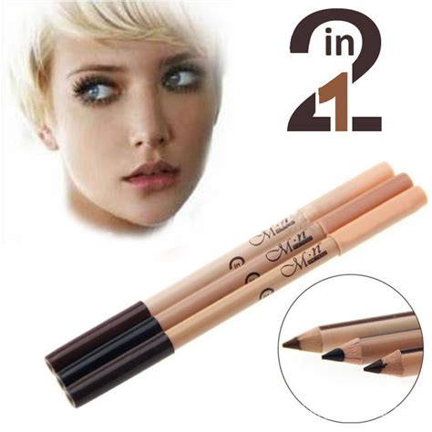 Pencil Mn 2 In 1 Eyeliner Eyebrow Concealer Pencil 2 In 1 Spk 259 set of 12 me now 2in1 eyeliner eyebrow and concealer pencil lazada ph