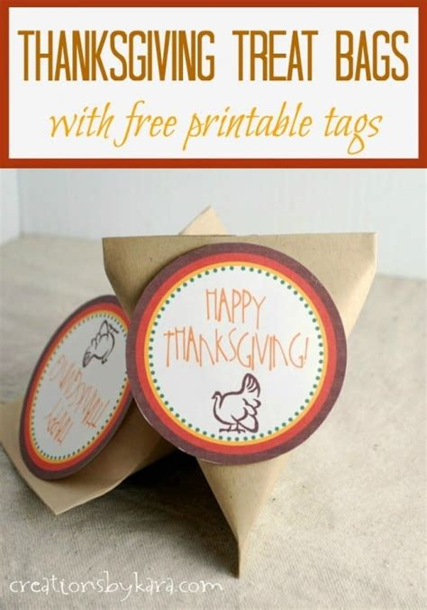 printable gift tags for thanksgiving thanksgiving treat bags with free printable