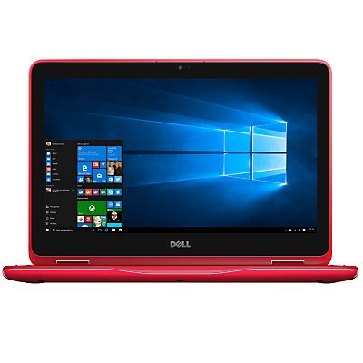 dell inspiron 11 3000 series 2 in 1 laptop, intel celeron