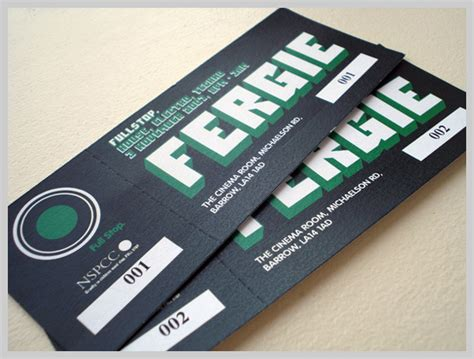20 custom event ticket design inspiration exles uprinting