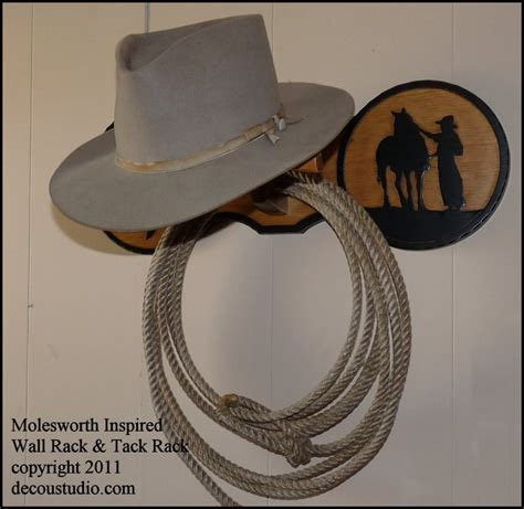 Cowboy Hat Racks Wall Mounted by Molesworth Style Western Hat Rack Tack Wall Mounted Carved