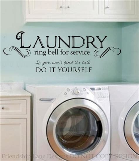 Laundry Letters by Laundry Room Ring Bell For Service Vinyl Wall Decal Words Quote Sticker Letters Ebay