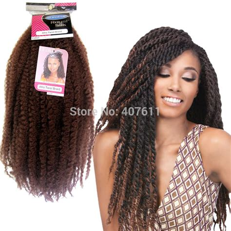 marley hair extensions afro twist braid hair synthetic braiding hair extension