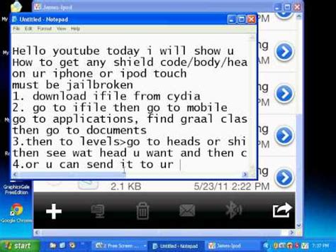 ifile tutorial hack full download how to ifile graal online era customs