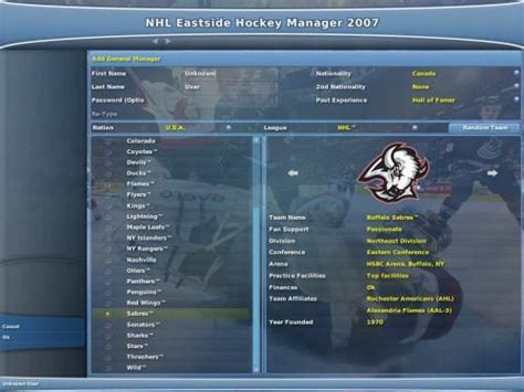 eastside hockey manager 2007 full version download nhl eastside hockey manager 2007 screeny edownload cz