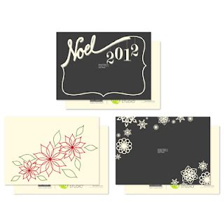 dreamy noel chritmas card template looking for digital inspiration