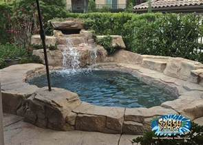 Backyard Pools Spas Small Yard Pool Options Splash Pools And Construction