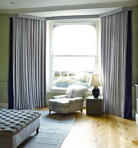 how to dress a window with voile and curtains dressing bay windows with curtains and blinds
