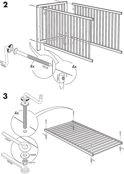 How To Put Together A Baby Crib by Narvik Crib Baby Crib Design Inspiration